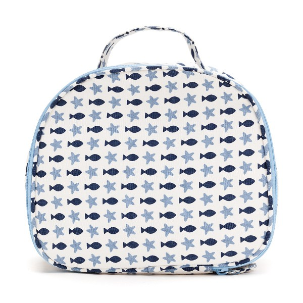 LARGE ROUND COSMETIC BAG