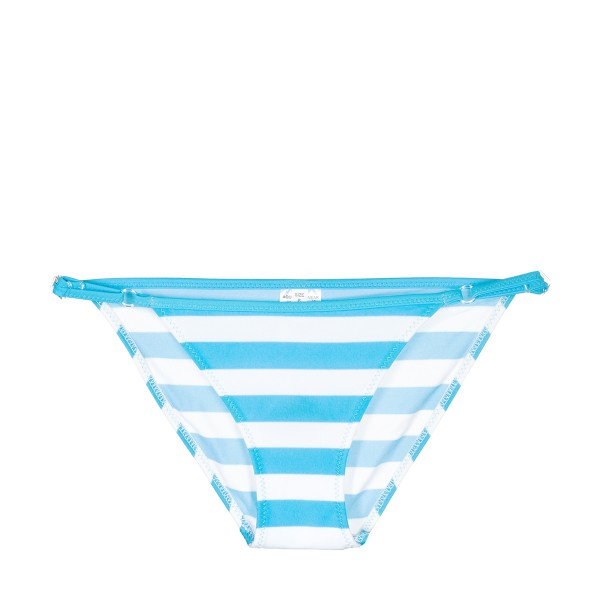 SWIMMING SUIT GIRL turquoise/marine stripes