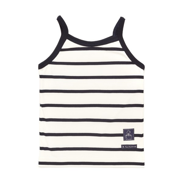 SHIRT CHILDREN white/wide stripes