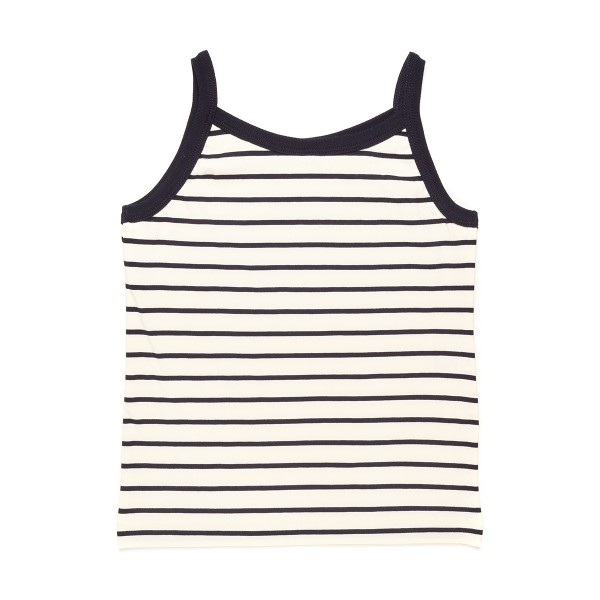 SHIRT CHILDREN white/slim stripes